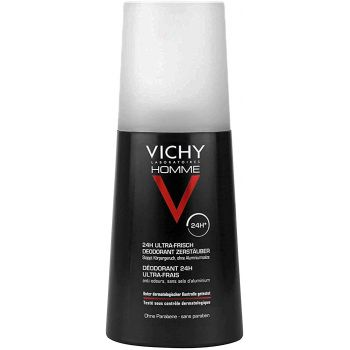 VICHY HOMME DESODORANTE SPRAY ULTRA FRESCO 1 ENVASE 100 ml