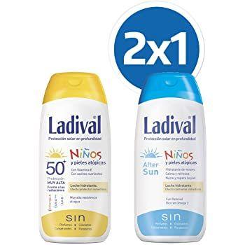 LADIVAL PACK NIÑOS SPR FSP50 200ML+200ML