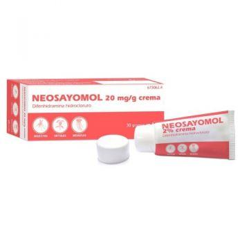 NEOSAYOMOL 20 mg/g CREMA 1 TUBO 30 g